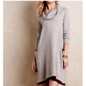 Anthropologie Sparrow sweater dress gray small
